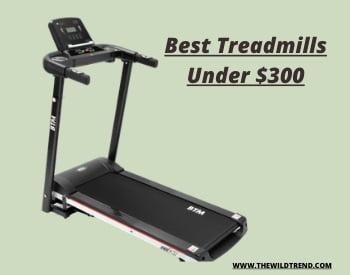 Treadmills under 300