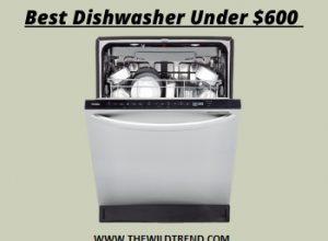 Best Dishwasher Under $600 Reviews for 2020