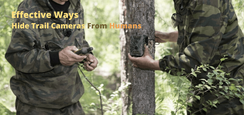 How To Hide Trail Camera
