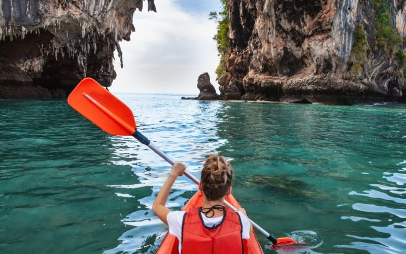 Health Benefits of paddling
