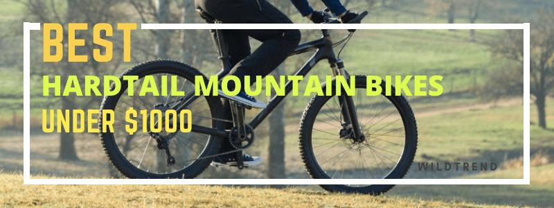 Hardtail Mountain Bike Reviews (Under $1000)