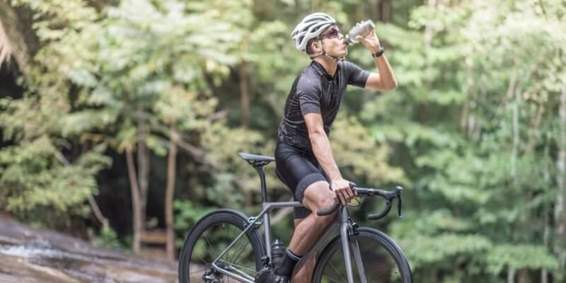 Always Dehydrate while mountain biking