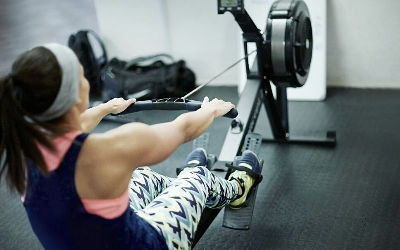 Rowing program to lose weight