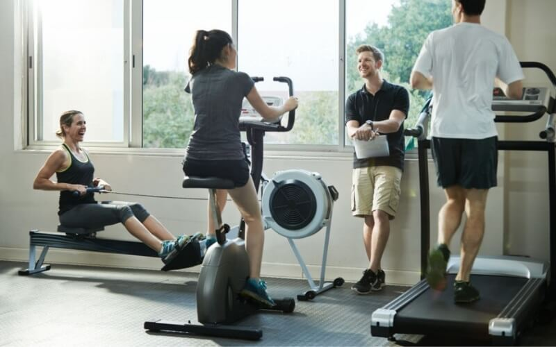 rowing machine or treadmill to lose weight